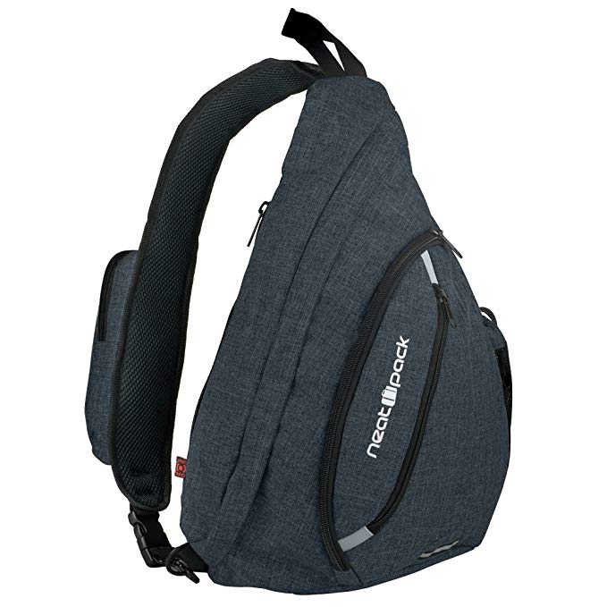 Versatile Canvas Sling Bag/Urban Travel Backpack - Sling Bags for men