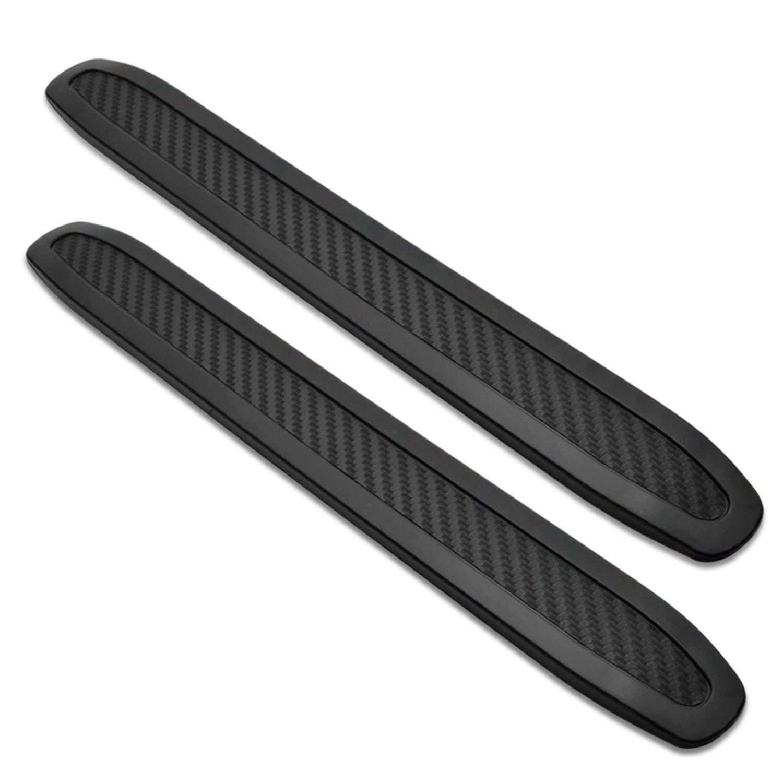 Run make Universal Black Anti-Collision Patch Bumper Guard Strip Anti-Scratch Bumper Protector Trim