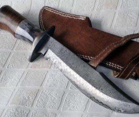 Poshland Sk-197, Custom Handmade Damascus Steel Bushcraft Knife