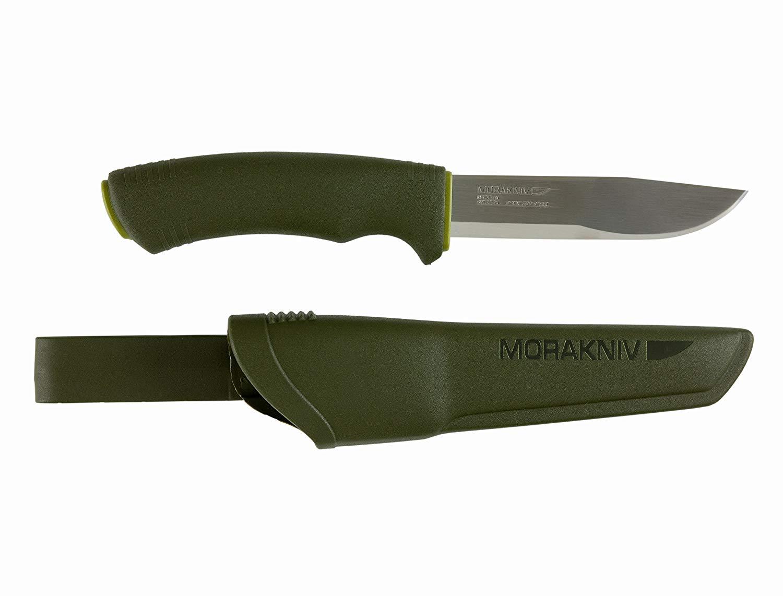 Morakniv Bushcraft Forest Fixed Blade Outdoor Knife