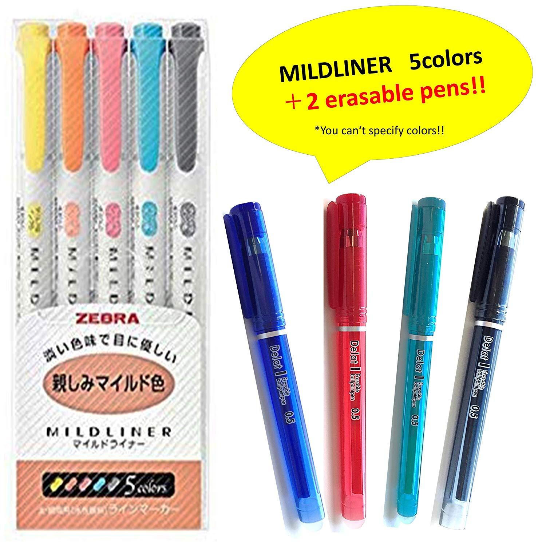 Zebra MILLINER Highlighter Pen Set