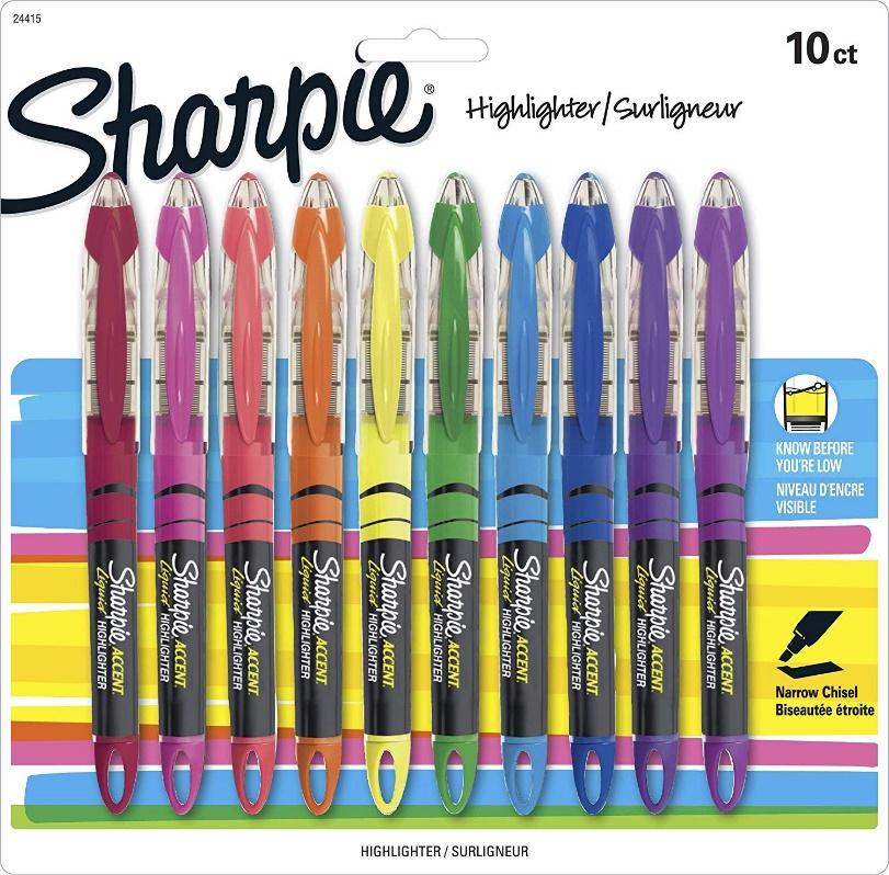 Sharpie Liquid Highlighters