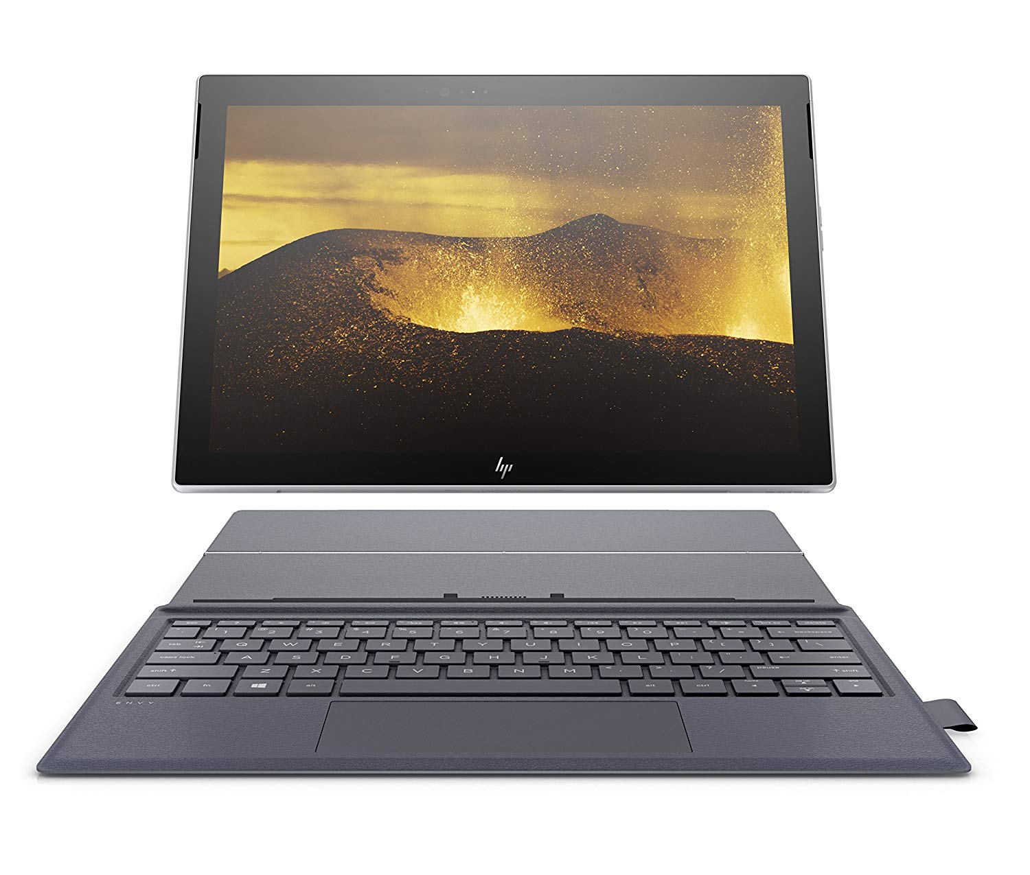HP Envy x2 12-inch Detachable Laptop with Stylus Pen and 4G LTE, Qualcomm Snapdragon 835 Processor, 4 GB RAM, 128 GB Flash Storage, Windows 10 (12-e091ms, Silver/Blue)
