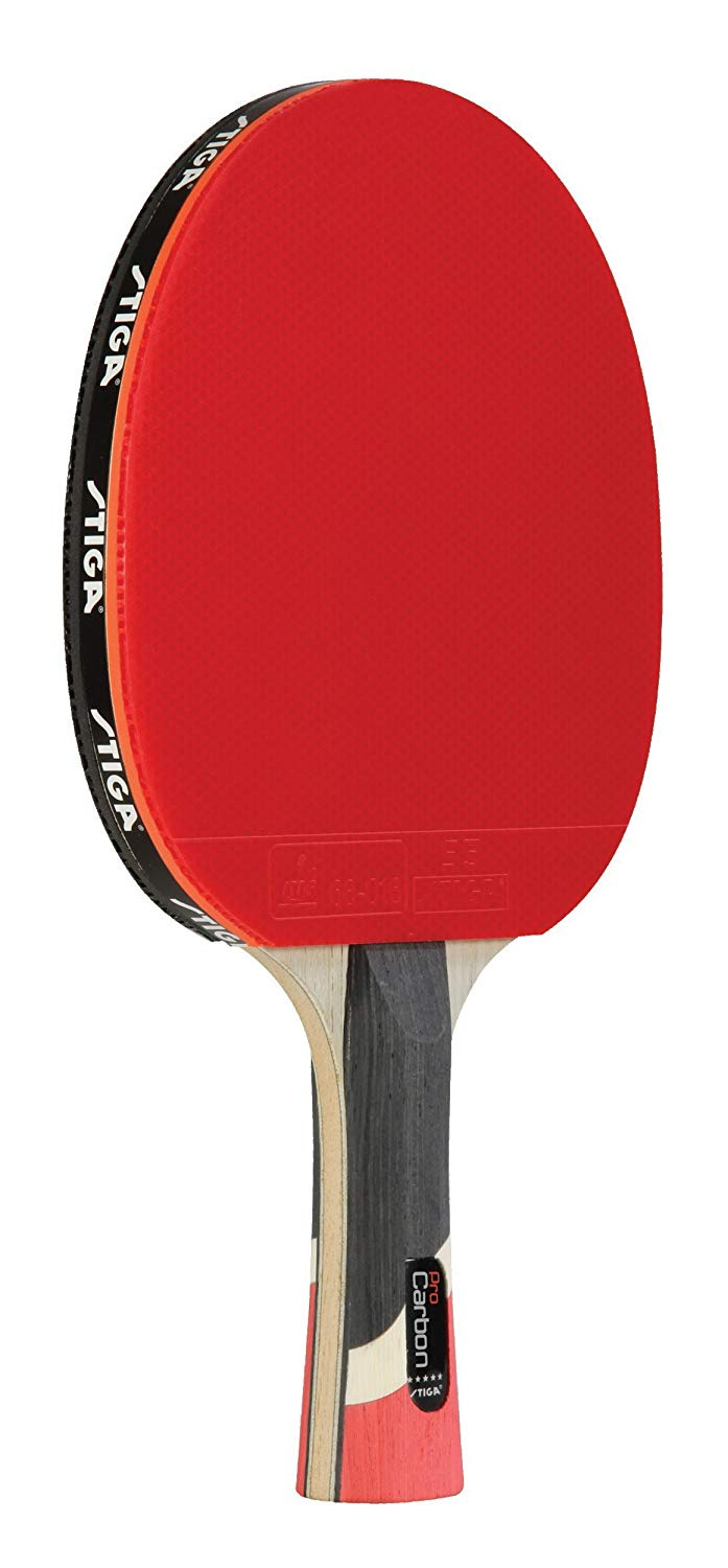 STIGA Pro Carbon Performance-Level Table Tennis Racket with Carbon Technology for Tournament Play - ping pong paddles