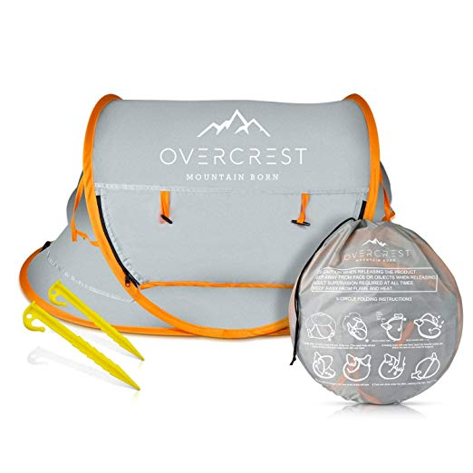 Overcrest Portable Beach Pop up Tent Babies