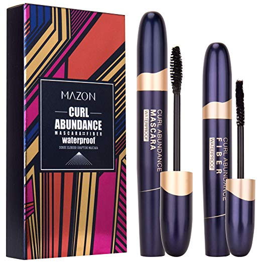 4D Silk Fiber Lash Mascara & Fiber 2-in-1 Set
