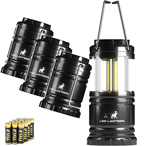 MalloMe LED Camping Lantern Flashlights 2 Pack & 4 Pack