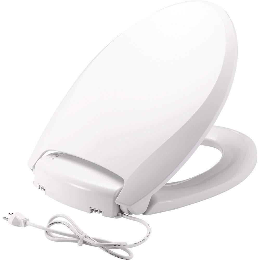 Bemis Radiance Heated Night Light Plastic Toilet Seat
