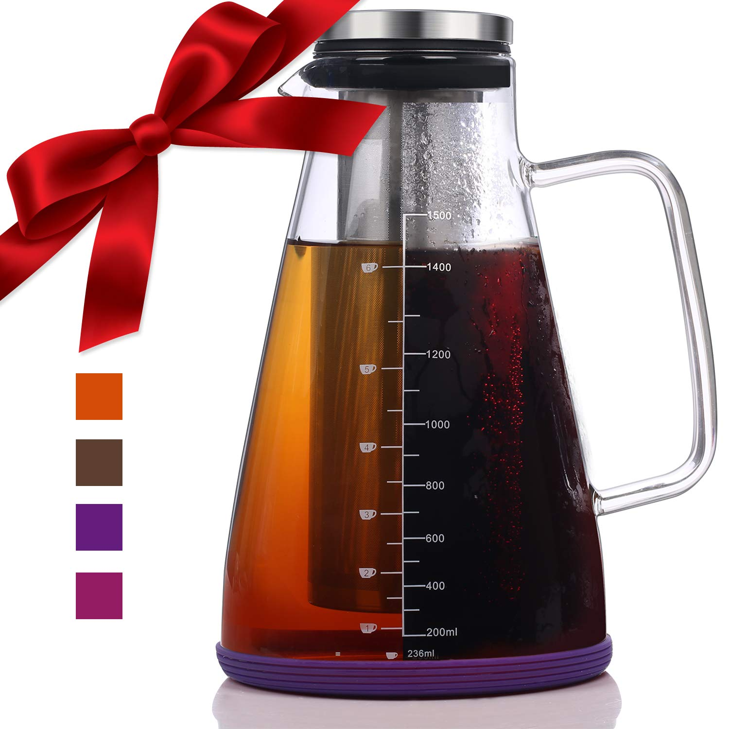 Large Cold Brew Iced Coffee & Tea Maker