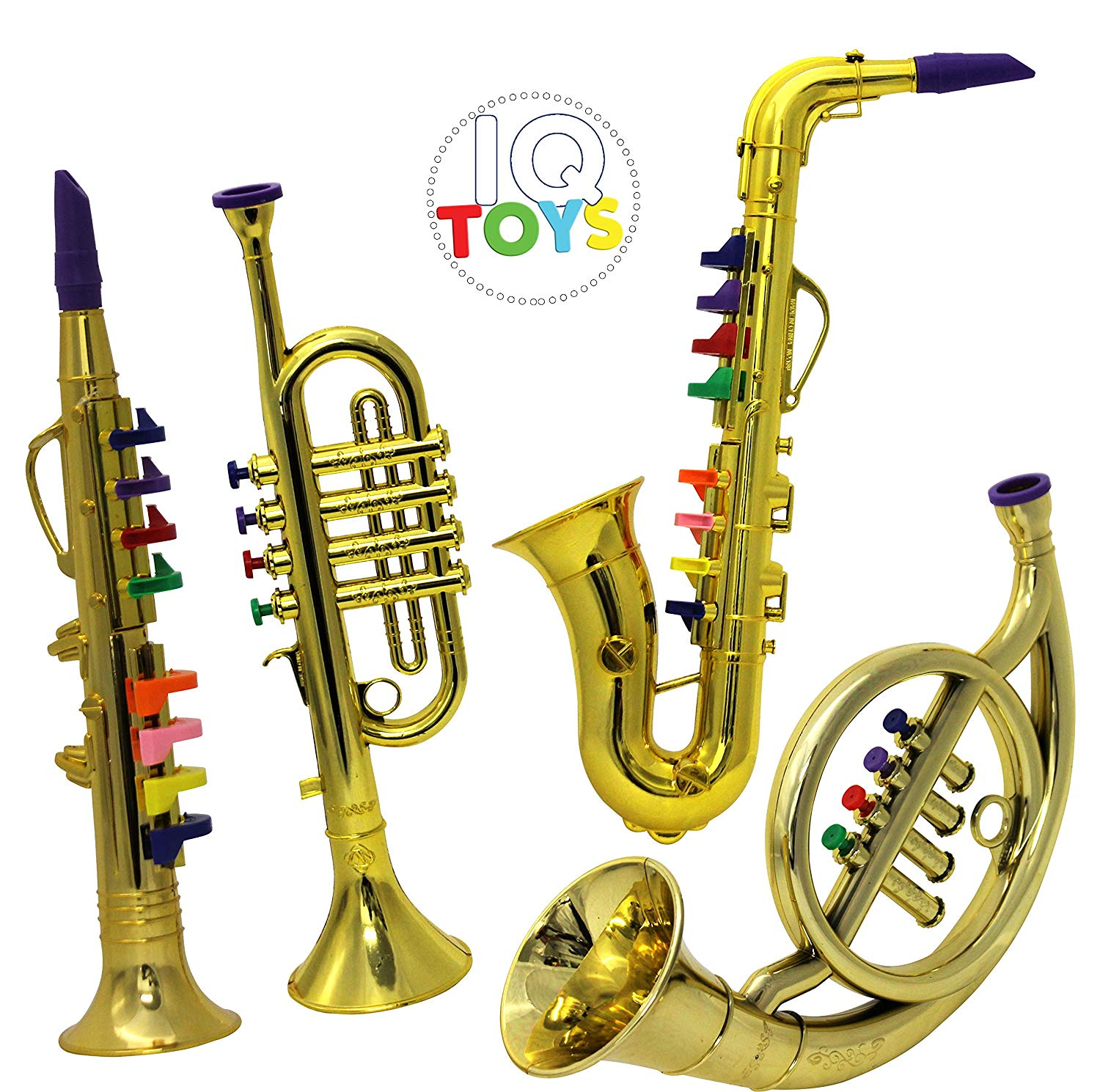 IQ Toys Set of 4 Music