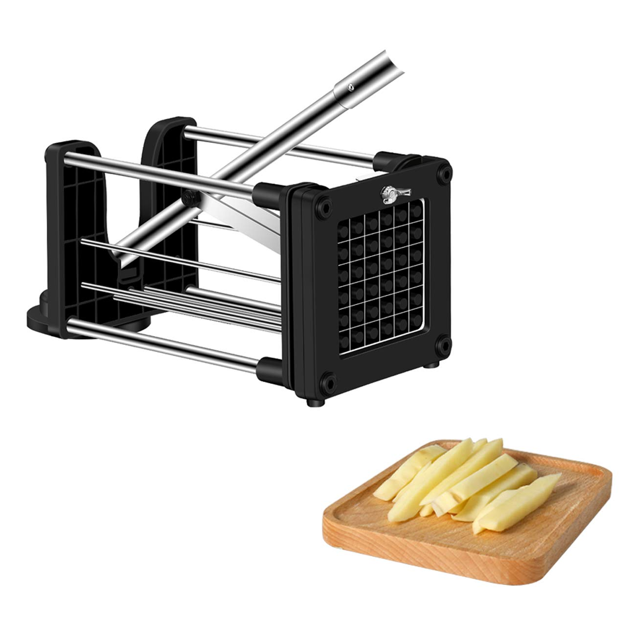Rackarster French Fry Cutter Potato Chipper