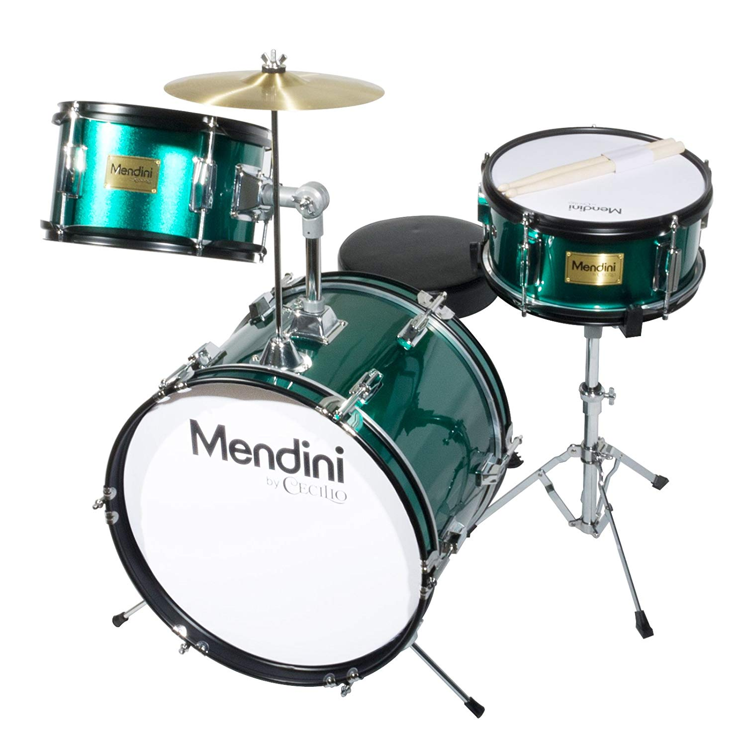Mendini by Cecilio 16 inch 3-Piece Kids/Junior Drum Set