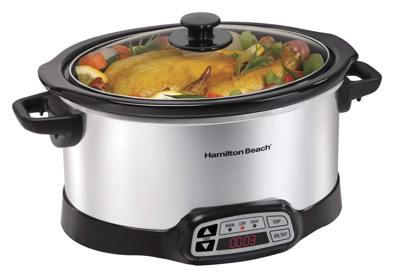Hamilton Beach 040094336609 Programmable Slow Cooker