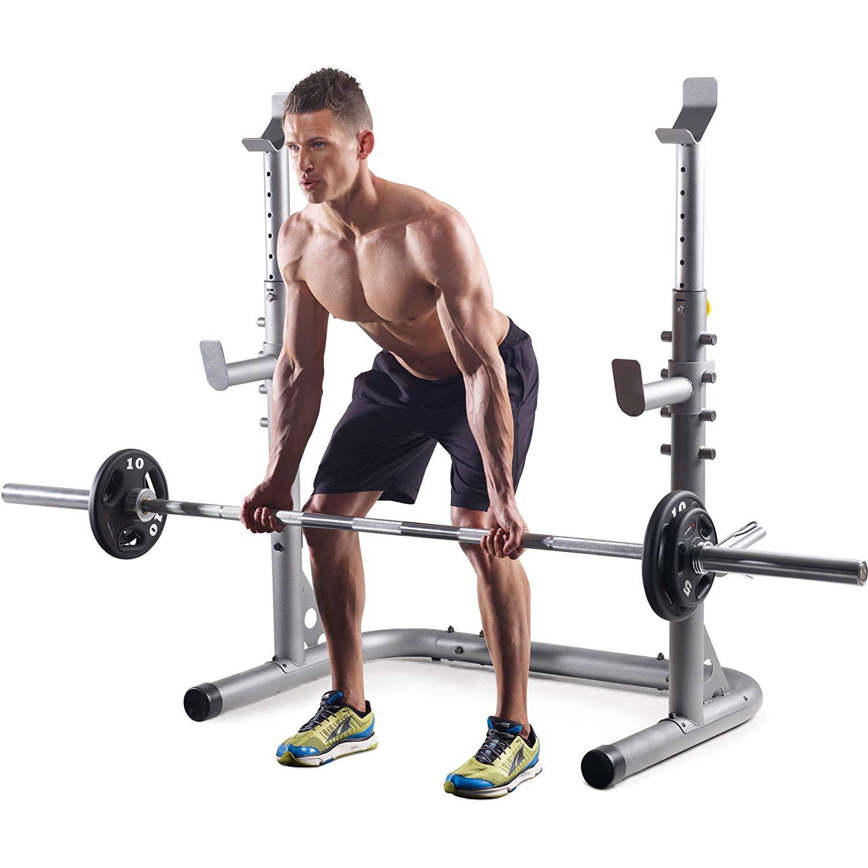 Golds Gym GGBE20615 XRS 20 Squat Rack