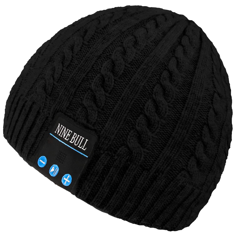 nine bull Bluetooth Beanie Hat