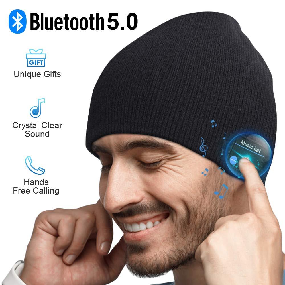 Bluetooth Beanie, Mens Gifts, Bluetooth Hat, Bluetooth Beanie Hat