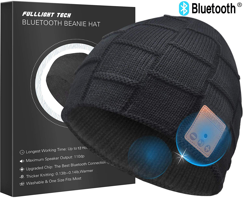 Upgraded Bluetooth Beanie Hat Headphones Wireless Headset Winter