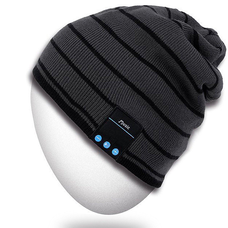 Rotibox Bluetooth Beanie Hat Unisex Winter Cap