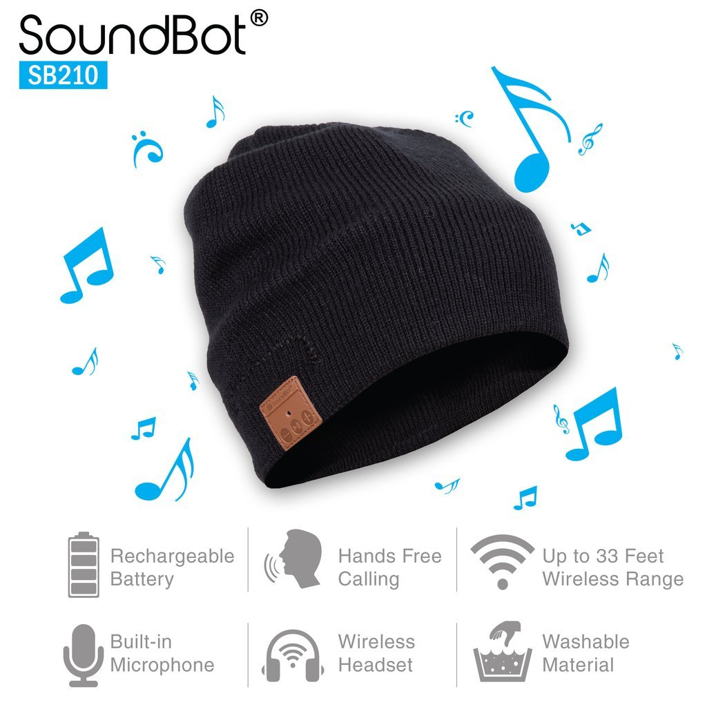 SoundBot¨ SB210 HD Stereo Bluetooth 4.1 Wireless