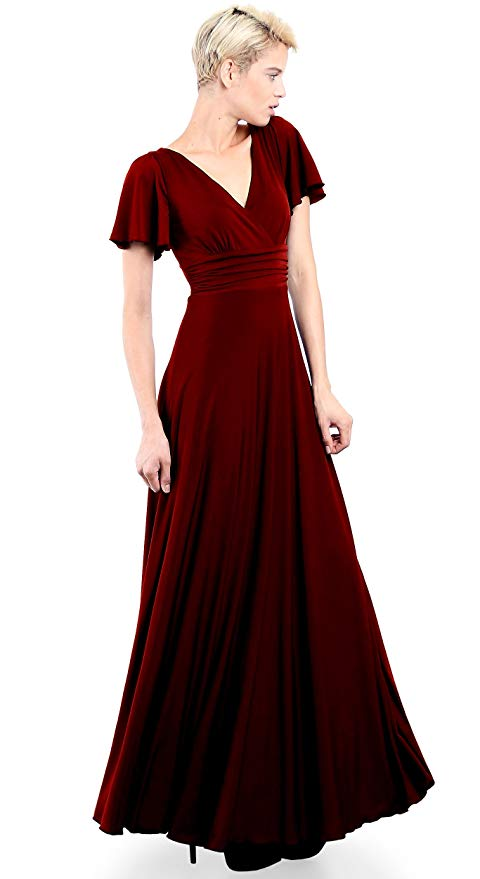 EVANESE Women's Plus Size Evening Formal Long Dress Gown