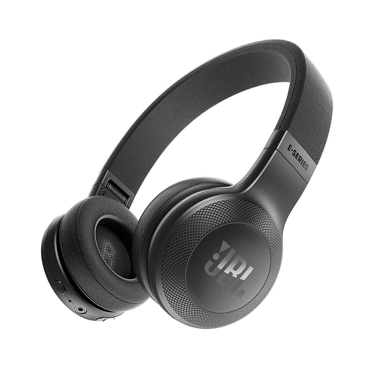 JBL E45BT On-Ear Wireless Headphones (Black)
