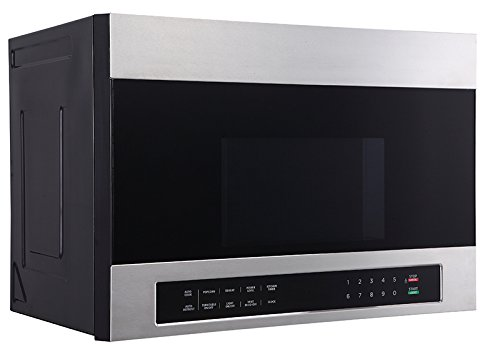 "Avanti MOTR13D3S 24"" Over The Range Microwave, Stainless Steel"