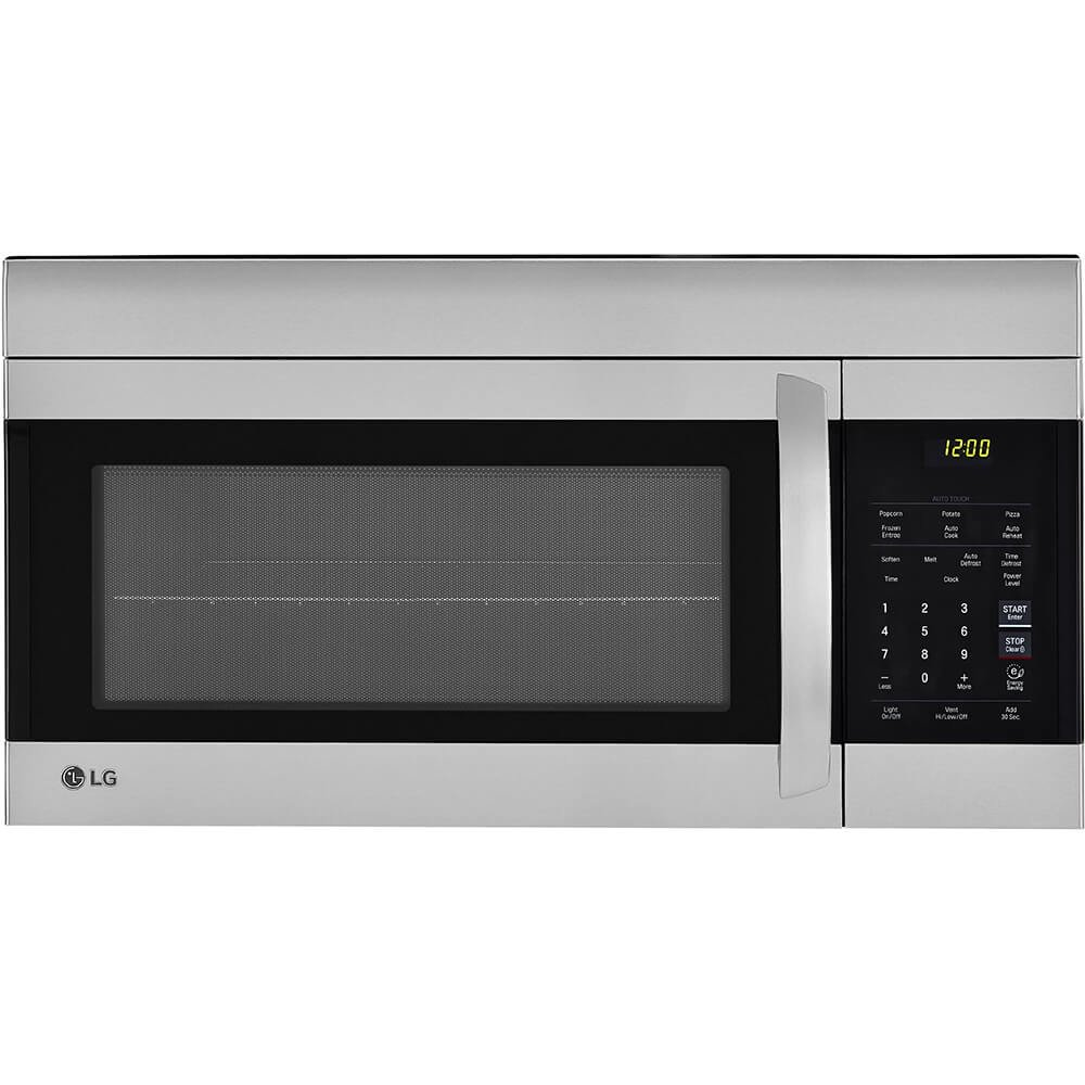 "LG 30"" Stainless Over-The-Range Microwave (LMV1762ST) Stainless Steel/Black - New"