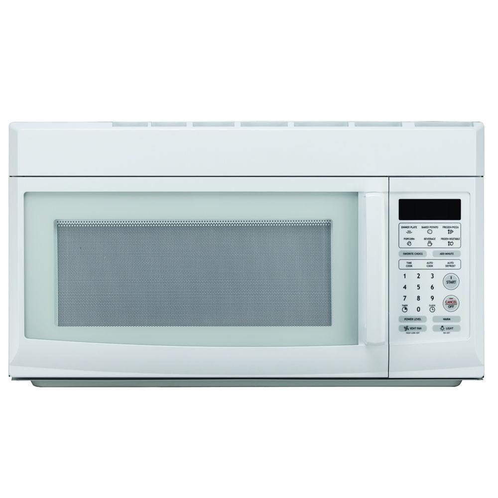 Magic Chef 1.6 cu. ft. Over-the-Range Microwave in White