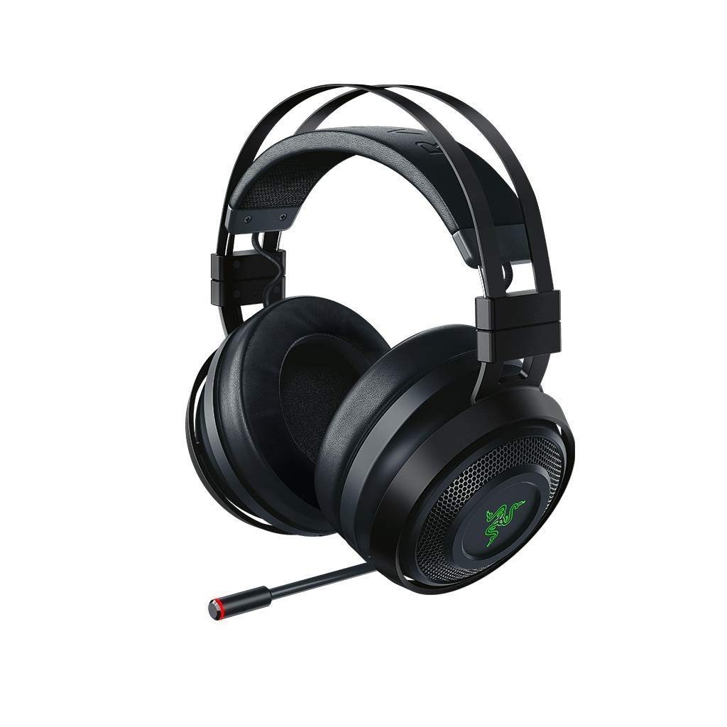 Razer Nari Ultimate: THX Spatial Audio – HyperSense Technology - 2.4GHz Wireless Audio – Cooling Gel-Infused Cushions - Gaming Headset Works with PC, PS4, Xbox One, Switch, & Mobile Devices