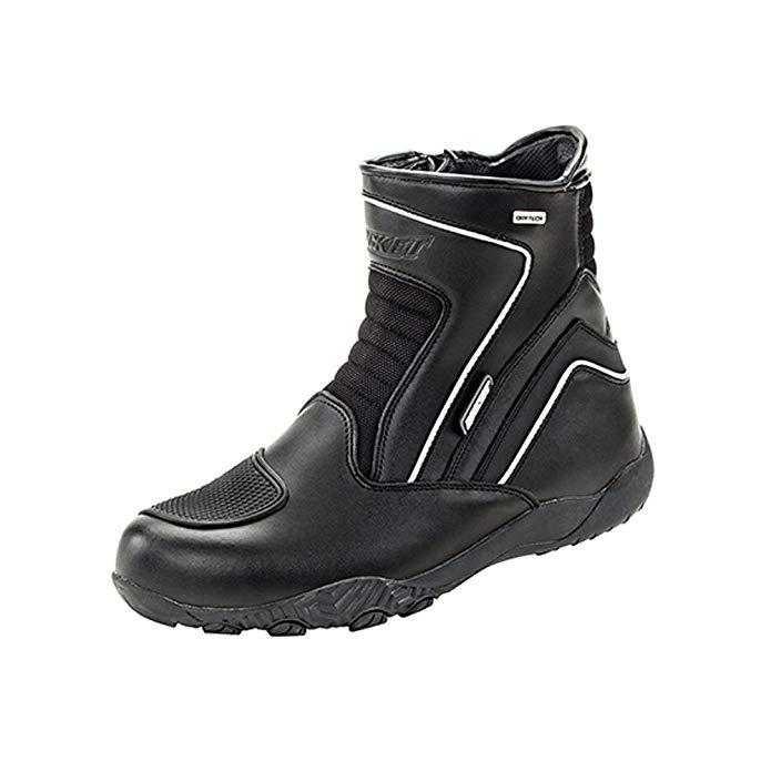 Joe Rocket Meteor FX Mid Mens Riding Shoes Sports Bike Racing Motorcycle Boots - Black