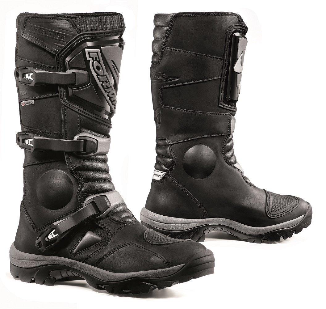 Forma Adventure Off-Road Motorcycle Boots (Black, Size 11 US/Size 45 Euro)