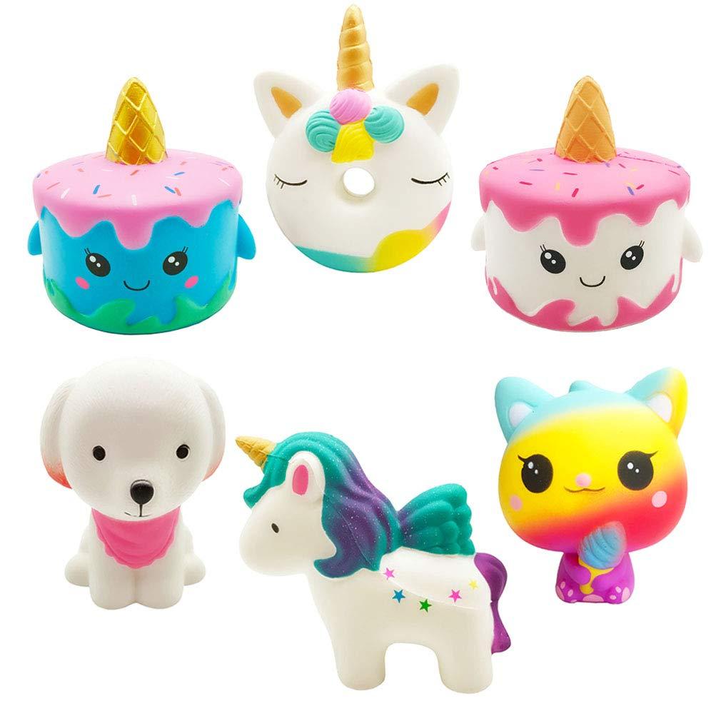 Yonishy Unicorn Squishies Toy Set