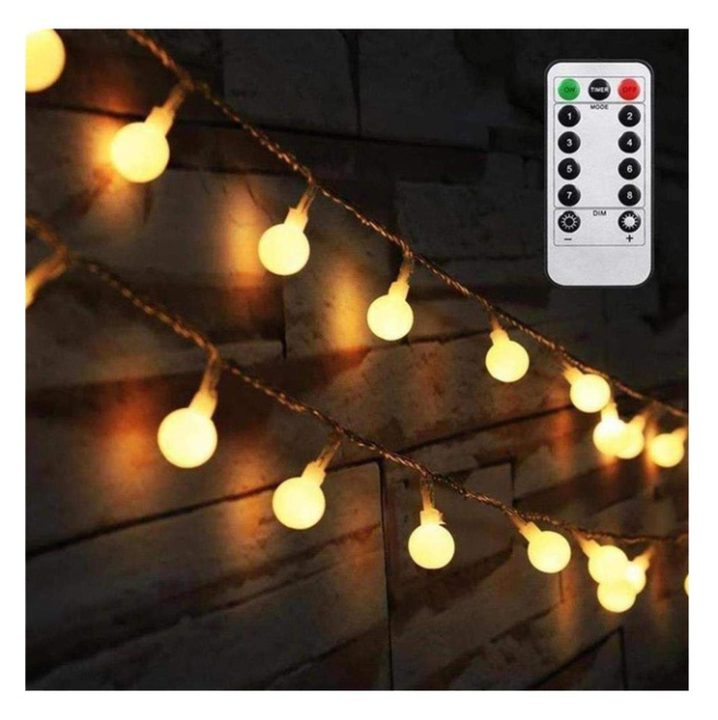 AMARS 16.4FT Battery Operated String Lights