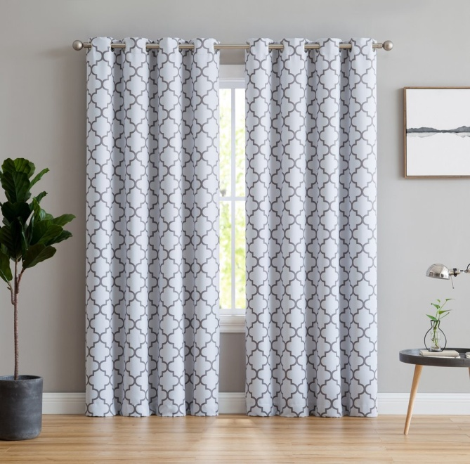 HLC.ME Lattice Print Thermal Insulated Room