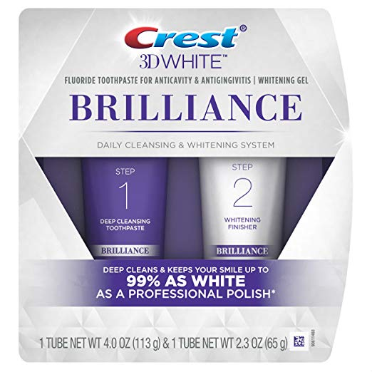 Crest 3D White Brilliance Toothpaste and Whitening Gel System
