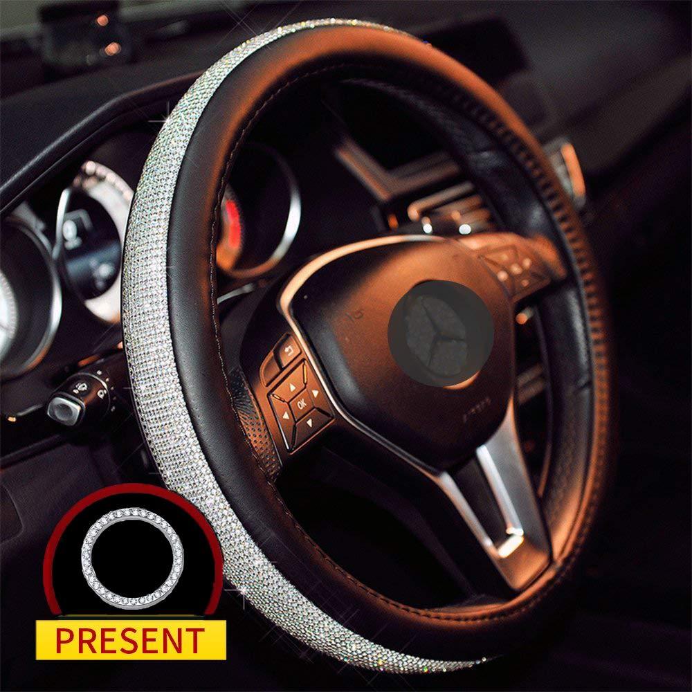 Sino Banyan Cystal Steering Wheel Cover