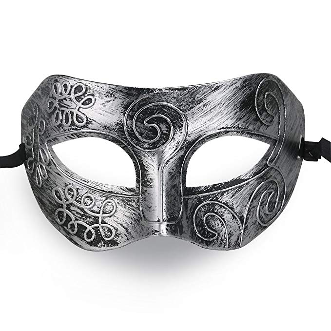 Cool Men Fighter Masquerade Face Mask