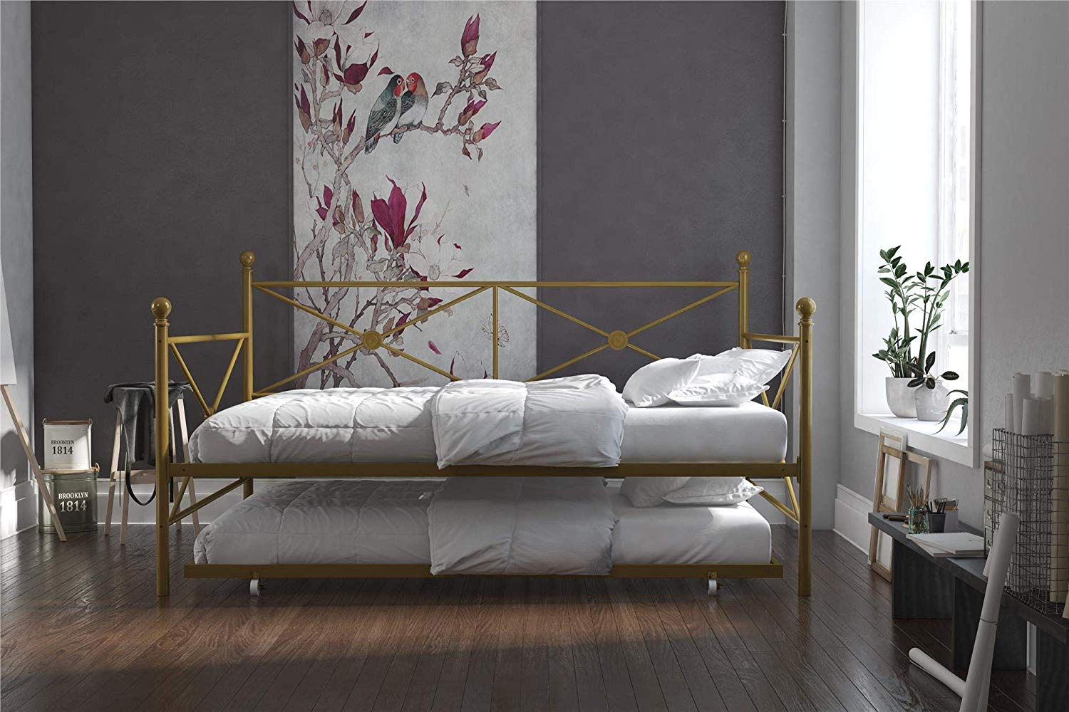 DHP Lina Full-Size Metal Daybed