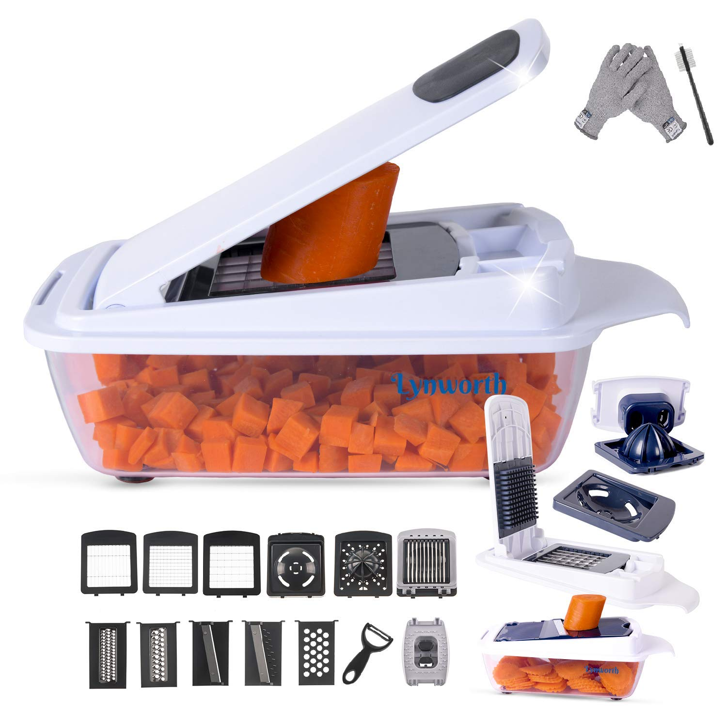 Vegetable Chopper Slicer Dicer Cutter