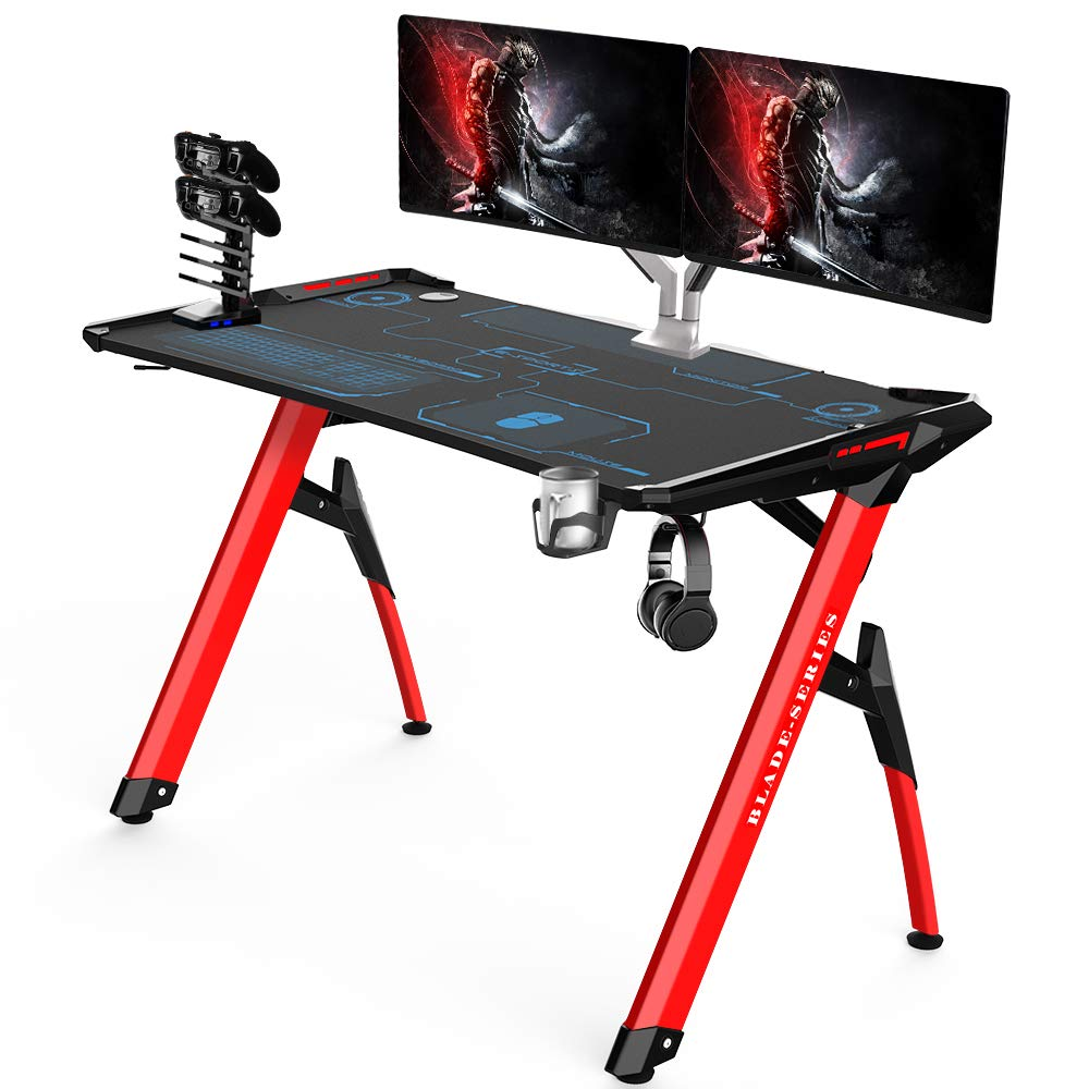 Kinsal Blade Series Gaming Style Computer Desk Office Desk Student