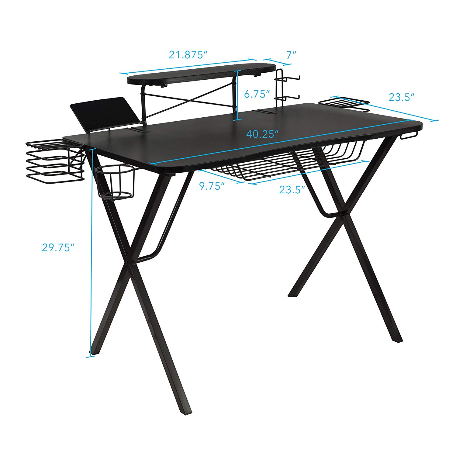 Atlantic Gaming Original Gaming-Desk Pro -Gaming Desks