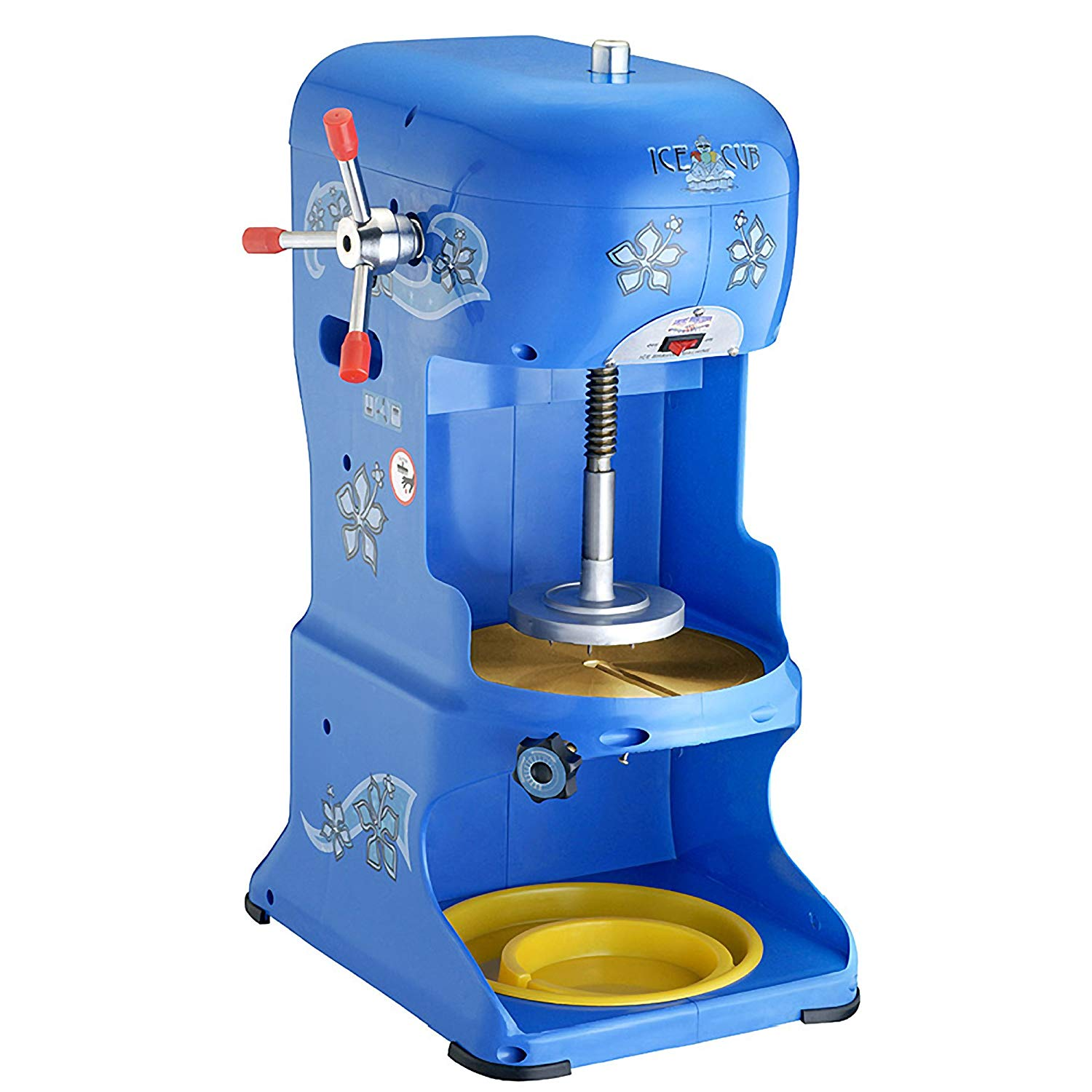 Great Northern Premium Quality Ice Cub Shaved Ice Machine Commercial Ice Shaver