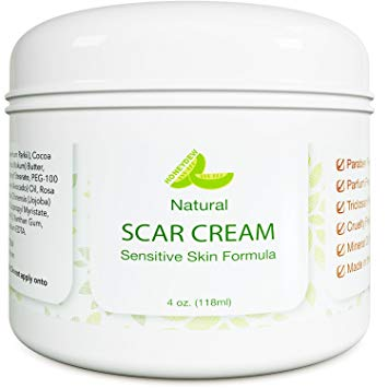 Honeydew Best Scar Cream for Face - Vitamin E Oil for Skin After Surgery - Stretch Mark Remover for Men & Women - Anti Aging Lotion - Acne Scar Removal for Old Scars on Body - Scar Treatment for Cuts