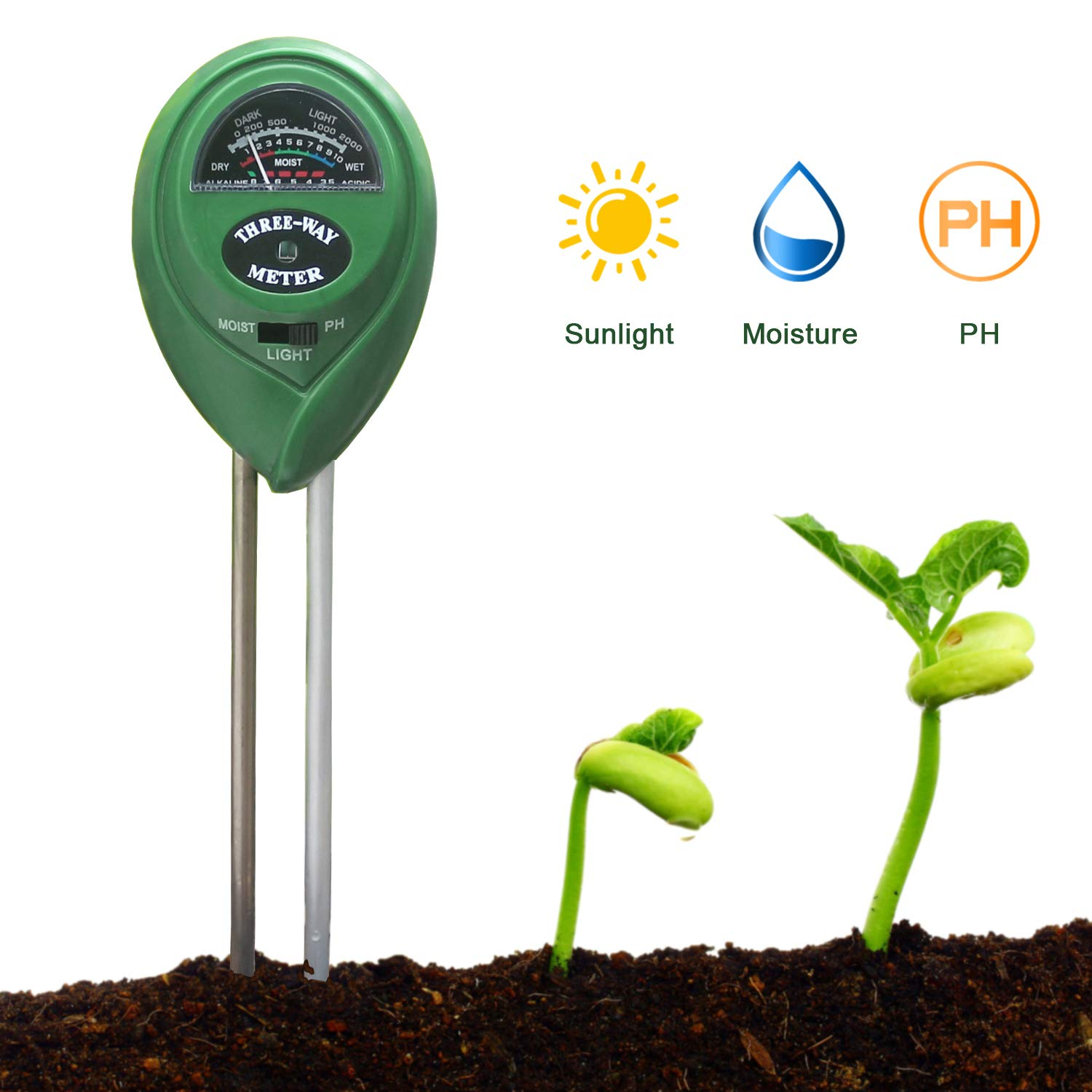 KETOTEK Soil PH Meter