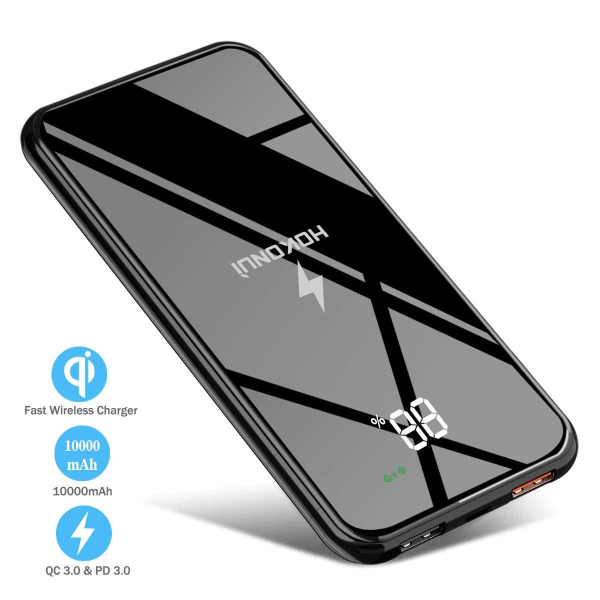 Wireless Portable Charger, Hokonui Wireless Power Bank 10000 mAh