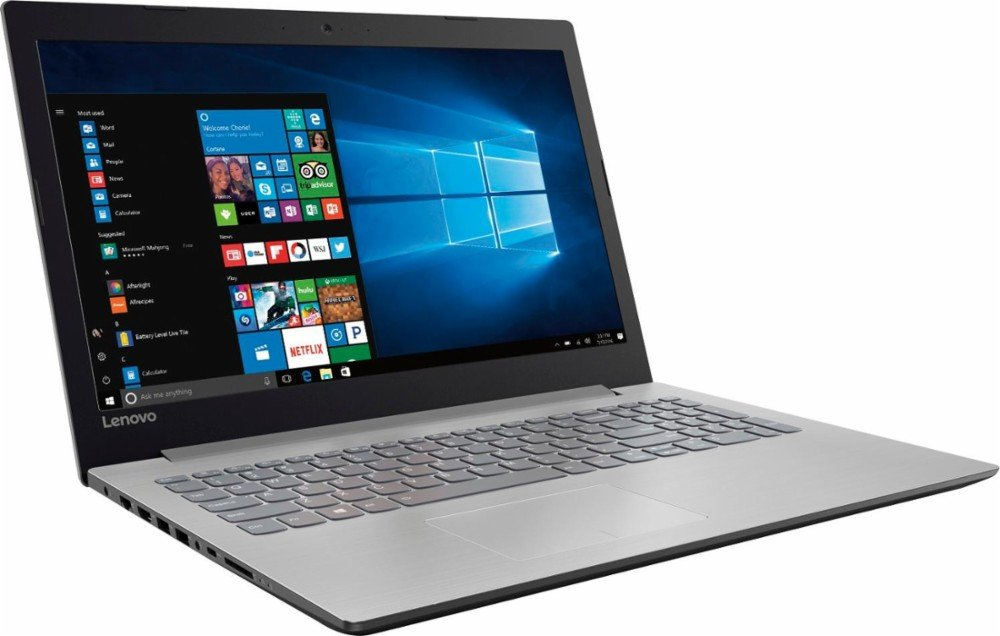 "Lenovo Ideapad 15.6"" HD High-Performance Laptop, AMD A12-9720P Quad-core processor 2.7GHz, 8GB DDR4, 1TB HDD, DVD, Webcam, WiFi, Bluetooth, Windows 10, Platinum gray"
