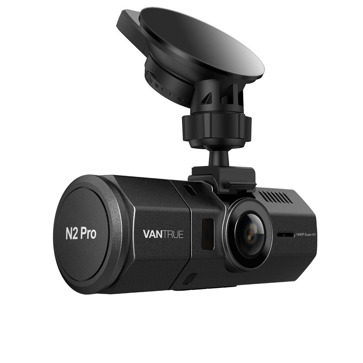 """Vantrue N2 Pro Uber Dual Dash Cam Infrared Night Vision Dual 1920x1080P Front and Inside Dash Camera (2.5K 2560x1440P Single Front) 1.5"""" 310° Car Camera, Parking Mode, Support 256GB max, Sony Sensor"""