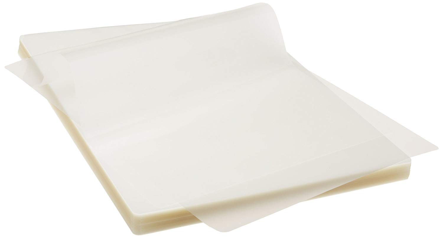 AmazonBasics Letter-Size Sheets Laminating Pouches 9 x 11.5in, 100-pack