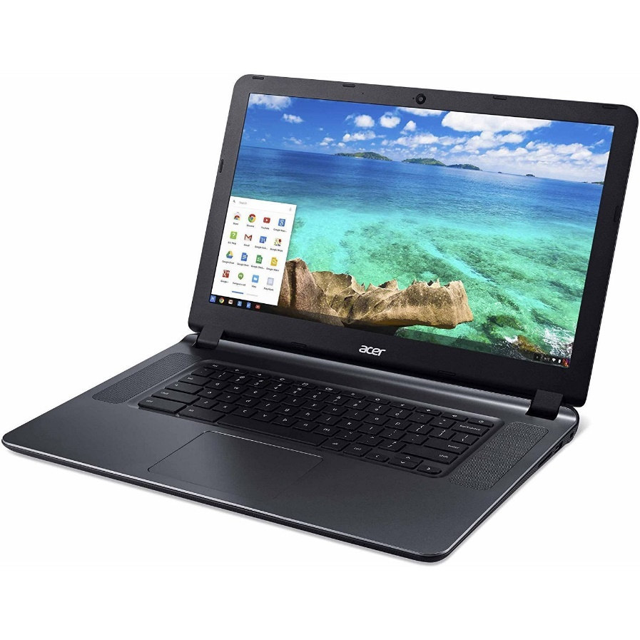 "2018 Newest Acer CB3-532 15.6"" HD Chromebook with 3x Faster WiFi, Intel Dual-Core Celeron N3060 up to 2.48GHz, 2GB RAM, 16GB SSD, HDMI, USB 3.0, Webcam, 12-Hours Battery, Chrome OS"