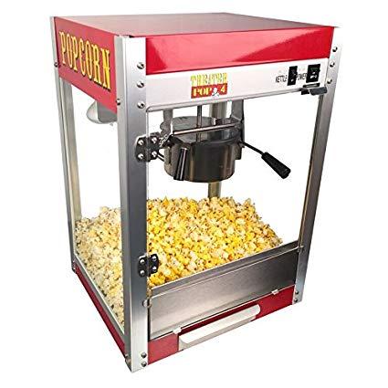 Theater Pop 4-Ounce Popper Popcorn Machine